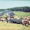 Dome, central field, Conference, AC tractor.
