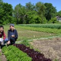 Garden Managers Brittany and Wren